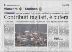 30 dicembre 2015 Il Giornale della Provincia