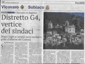 5 febbraio 2016 Il Giornale della Provincia